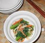 小松菜とえのきの煮びたし